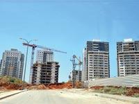 בניינים חדשים בהוד השרון / צילום: תמר מצפי