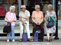 אוכלוסייה מבוגרת / צילום: בלומברג