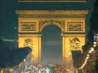 שער הניצחון בפריז / צילום: רויטרס