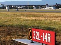 שדה התעופה  Moffet/ צילום: רויטרס