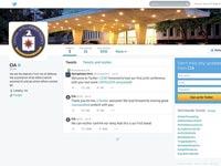חשבון הטוויטר של ה CIA / צילום מתוך האתר
