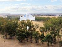 """המל""""ט נשל גוגל / צילום: בלומברג"""