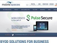 האתר של Mobile Spaces / צילום מתוך אתר החברה