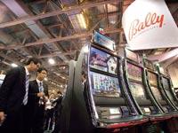 מכונת הימורים של הרוכשת Bally / צילום: רויטרס