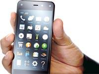 הטלפון של אמזון Fire Phone / צילום: בלומברג