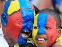 אוהדי נבחרת קולומביה, מונדיאל 2014 / צלם: רויטרס