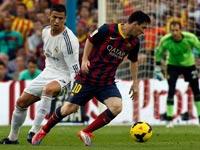 ליונל מסי מול כריסטיאנו רונאלדו, ברצלונה נגד ריאל מדריד / צלם: רויטרס