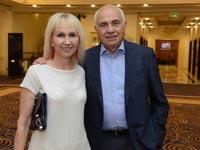 ישראל מקוב וזוגתו בלה לוסטיג /  צלם: אוהד הרכס מכון ויצמן