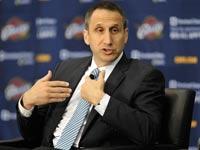 דייויד בלאט מוצג כמאמן קליבלנד קבאלירס, NBA / צלם: רויטרס