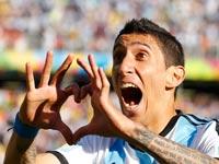 אנחל די-מאריה, מונדיאל 2014, נבחרת ארגנטינה / צלם: רויטרס