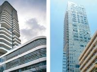 מגדל רמז ומגדל פרישמן 46 בתל אביב / צילום: איל יצהר תמר מצפי