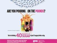 קמפיין נגד צריכת משקאות ממותקים