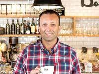 יאיר מלכה קפה גרג/ צילום: יחצ מיקי אופק