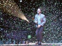 כריס מרטין סולן להקת קולדפליי/ צילום: רויטרס