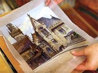 התמונה שהיטלר צייר/ צילום: רויטרס