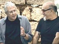 ישראל אהרוני וגידי גוב / צילום: יחצ