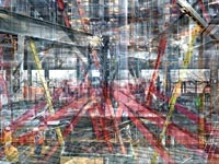 מתוך התערוכה של שי קרמר/ צילום באדיבות האמן