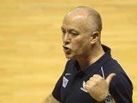 ארז אדלשטיין מאמן נבחרת ישראל / צילום: באדיבות איגוד הכדורסל