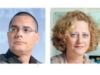 גל תורג'מן ואילת מצגר / צילום: איל יצהר ותמר מצפי