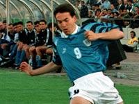 איל ברקוביץ', נבחרת ישראל, 1997 / צלם: רויטרס