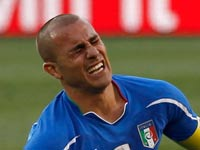 פאביו קנאברו, נבחרת איטליה, מונדיאל 2010 / צלם: רויטרס