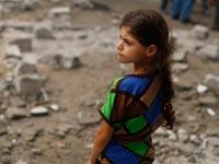 ילדים ברצועת עזה צוק איתן / צילום: רויטרס