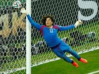 ג'יזרמו אוצ'ואה, נבחרת מקסיקו, מונדיאל 2014 / צלם: רויטרס