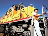רכבת של יוניון פסיפיק / צילום: בלומברג