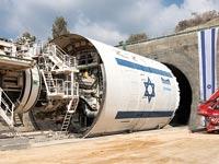 חפירת מינהרת הרכבת לירושלים / צילום: רודי אלמוג