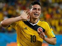 חאמס רודריגז, נבחרת קולומביה, מונדיאל 2014 / צלם: רויטרס