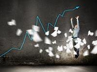 עלייה- הצלחה- שוק ההון/קרדיט: שאטרסטוק
