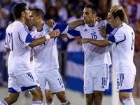 נבחרת ישראל בכדורגל, משחק ידידות מול הונדורס ב-2014 / צלם: רויטרס