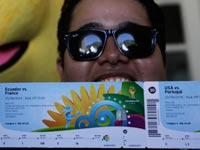 כרטיסים למונדיאל 2014 בברזיל / צלם: רויטרס