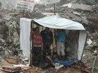 הריסות עזה חודשיים אחרי תום המלחמה / צילום: רויטרס