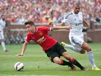 מנצ'סטר יונייטד מול ריאל מדריד, משחק ראווה במישיגן ארה''ב / צלם: רויטרס