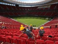 אצטדיון מאנה גארינצ'ה בברזיליה, ברזיל / צלם: רויטרס