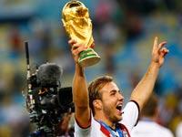 מריו גצה נבחרת גרמניה גביע העולם 2014 / צילום רויטרס