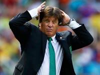 מיגל הררה מאמן נבחרת מקסיקו, מונדיאל 2014 / צלם: רויטרס