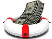 כסף- עזרה פיננסית- גלגל הצלה/ צילום: שאטרסטוק