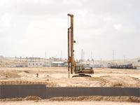 """בניית בסיסי צה""""ל בדרום / צילום: איל יצהר"""
