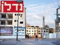 מתחם לפינוי בינוי בתל אביב / צילום: תמר מצפי