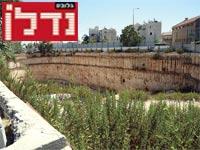 שטח המריבה בשכונת רוממה בירושלים / צילום: איל יצהר