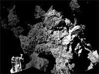 כוכב שביט P67 / צילום: סוכנות החלל הבינלאומי