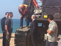 טקס הנחת אבן פינה בנמל אשדוד החדש / צילום: הדי כהן