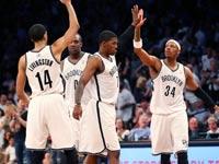 שחקני ברוקלין נטס NBA / צילום: רויטרס
