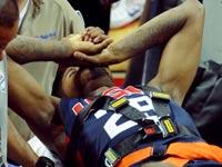 שחקן ה-NBA פול ג'ורג' נפצע / צלם: רויטרס