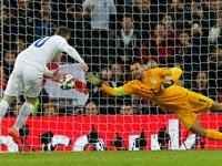 בעיטת עונשין מ-11 מטר, פנדל, נבחרת אנגליה, וויין רוני / צלם: רויטרס
