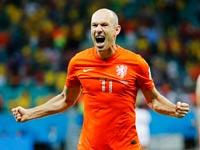 אריאן רובן נבחרת הולנד / צילום: רויטרס