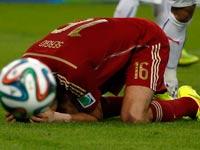 סרג'יו בוסקטס מנבחרת ספרד / צילום: רויטרס