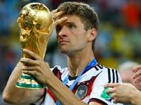 תומאס מולר, נבחרת גרמניה, מונדיאל 2014 / צלם: רויטרס